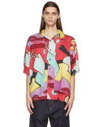 Vivienne Westwood マルチカラー シャツ