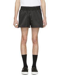 Han Kjobenhavn Black Logo Shorts