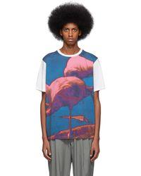 Paul Smith - Ssense Exclusive White Pauls Photo Flamingo T-shirt - Lyst