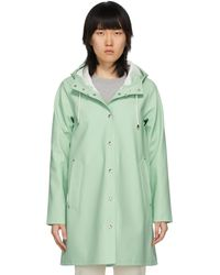 Stutterheim Green Mosebacke Raincoat