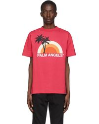 Palm Angels - ピンク Sunset T シャツ - Lyst