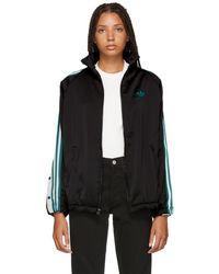 adidas Originals - Black Adibreak Track Jacket - Lyst