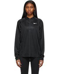 Nike Court Challenger Half-zip Sweater - Black