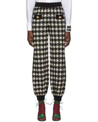 Gucci Embroidered Pants - Black