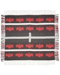 Undercover - Black & Red Bat Scarf - Lyst