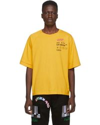 Off-White c/o Virgil Abloh Industrial Y013 Reconstructed Tee - Yellow
