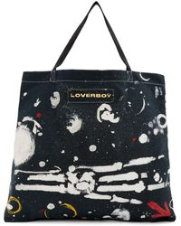 Charles Jeffrey LOVERBOY ブラック Asteroids トート