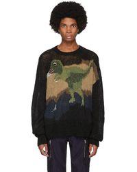 COACH ブラック レキシー セーター