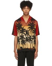 Wooyoungmi - レッド Palm Tree シャツ - Lyst