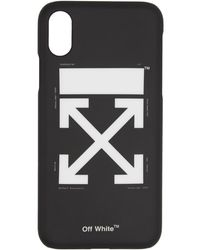 Off-White c/o Virgil Abloh - Ssense 限定 ブラック And ホワイト アロー Iphone 11 Pro ケース - Lyst