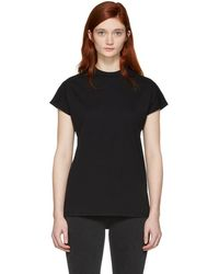 Won Hundred - Black Proof High Neck T-shirt - Lyst