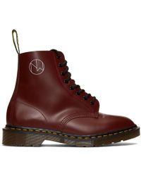 Undercover Dr. Martens Edition レッド 1460 ブーツ