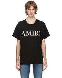 Amiri Logo T-shirt - Black