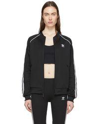 adidas Originals - Black Adicolor Sst Track Jacket - Lyst