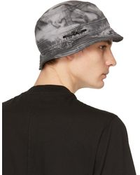 Boris Bidjan Saberi 11 Grey New Era Edition Logo Bucket Hat