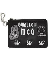 McQ - Black Multi Patch Pouch - Lyst