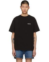 ADER error - Black Futuro T-shirt - Lyst