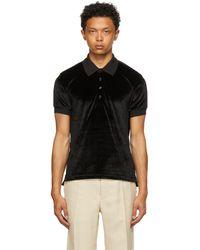 Tom Ford ブラック ポロシャツ