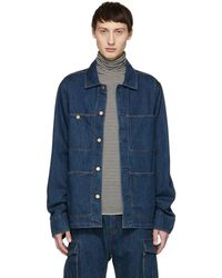 Acne Studios - Blue Bla Konst Denim Albyr Natural Jacket - Lyst