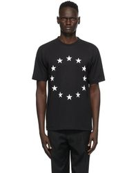 Etudes Studio ブラック Wonder Europa T シャツ