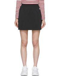 adidas Originals - Black Sc Miniskirt - Lyst
