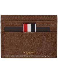 Thom Browne - Logo Detail Card Holder - Lyst