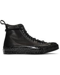 Converse Black Chuck 70 Speckled Hi Sneakers