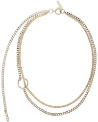 Justine Clenquet Gold And Silver Jane Choker - Metallic