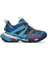 Balenciaga Track Sneakers - Blue
