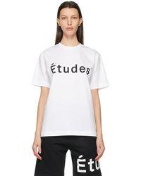 Etudes Studio ホワイト Wonder T シャツ