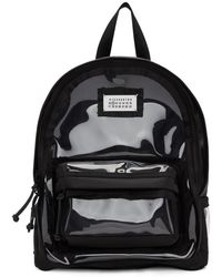 Maison Margiela - Black Pvc Backpack - Lyst