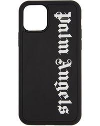 Palm Angels ブラック ロゴ Iphone 11 Pro ケース
