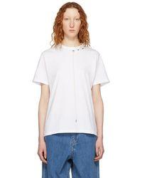 Craig Green - White Laced T-shirt - Lyst