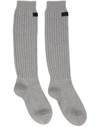 Fear Of God Grey Seventh Collection Socks