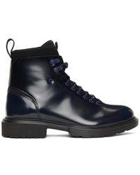HUGO Black Dart Boots