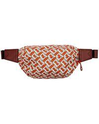 Burberry Sonny Monogram Nylon Belt Bag - Multicolour