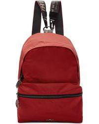 Off-White c/o Virgil Abloh - Red Mini Backpack - Lyst