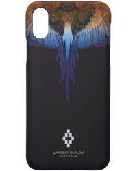 Marcelo Burlon ブラック ウィング Iphone X ケース
