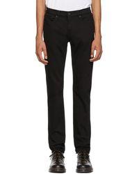 Burberry - Black Slim Fit Jeans - Lyst