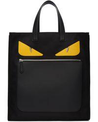 Fendi | Black Nylon 'bag Bugs' Tote | Lyst