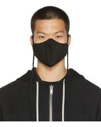 Rick Owens ブラック マスク