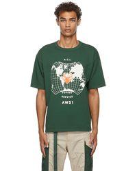 Reese Cooper T-shirt rci international en coton - Vert