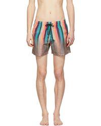Paul Smith | Multicolour Artist Stripe Swim Shorts | Lyst