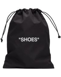 Off-White c/o Virgil Abloh - ブラック & ホワイト Shoes ポーチ - Lyst