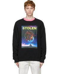 Stolen Girlfriends Club Black In Dreams Sweatshirt