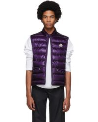 Moncler Purple Down Gui Vest