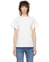 Totême  - Off-white Organic Espera T-shirt - Lyst