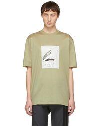 "Lanvin - ""natural Pain Killer Me"" T-shirt - Lyst"