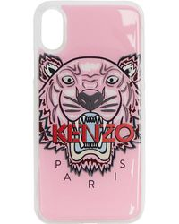KENZO - Pink 3d Tiger Iphone X Case - Lyst