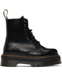 Dr. Martens - ブラック Jadon Retro Quad ブーツ - Lyst